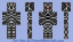 DemiWarrior Minecraft Skin