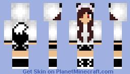 Demon Wolf Minecraft Skin