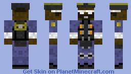 Blu Demopan Minecraft Skin