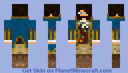 DennyFCT Captain Skin Minecraft