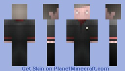 Director Sloane, Section 31 /  ST DS9 Minecraft Skin