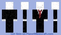 Derp Slenderman Minecraft Skin