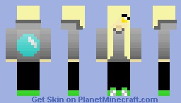 Human Derpy Hooves Minecraft Skin