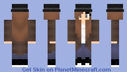 ❤Zσєу❤ Detective Zoey! Minecraft Skin