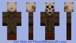 Detective bones Minecraft Skin