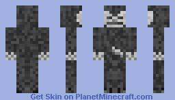 Skelly in A Cloak Minecraft Skin