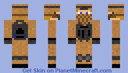 Just Another Soldier Minecraft Skin