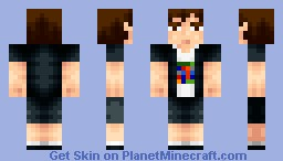 Me irl (Merry Christmas) (For Dinow's palette contest) Minecraft Skin