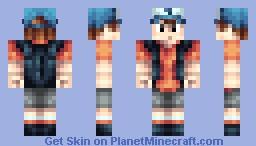 Dipper Pines [Gravity Falls] Minecraft Skin