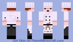 Dirty Cook Minecraft Skin