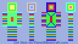 Disco Guy Minecraft Skin