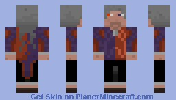 The MadGod (young) Minecraft Skin