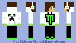 Monster Energy Guy Minecraft Skin