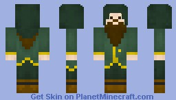 Doctor Frogface (Skies of Aurora RP) Minecraft Skin