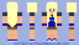 Doctor Who Fan Girl || RosiePlayz! || Minecraft Skin