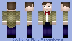 Matt Smith (11th Doctor) Minecraft Skin