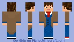 Doctor Who - David Tennant Minecraft Skin