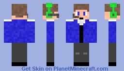 Back Up Dancer Minecraft Skin