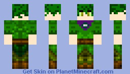 """""""Don"""" the Nature Guardian. Minecraft Skin"""