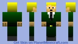 Donald Blake Minecraft Skin