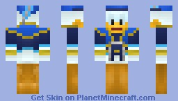 Donald Duck - Kingdom Hearts Minecraft Skin