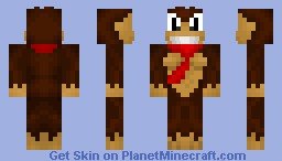 DonkeyKong 40Subs~Special [ Community Contest Winner ] Minecraft Skin