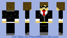 Dood In a suit Minecraft Skin