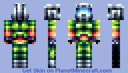 Doom Guy Minecraft Skin