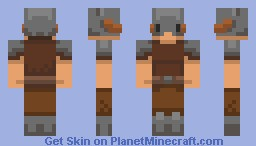 Dovahkiin - He Throws His Hands Up and Shouts! [I May Enter This For a Server Skin Contest] Minecraft Skin