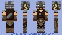Dovahkiin Skyrim skin by TotalTrollFace Minecraft Skin