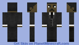 Dr. Martin Luther King Jr Minecraft Skin