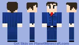 Dr.Who (David Tennant) Minecraft Skin