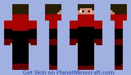 DracoDomitor in Action Suit (ME) Minecraft Skin