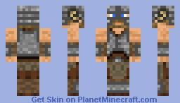 DovahKiin Skyrim [3D] [Better in Preview] Minecraft Skin