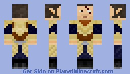 Elven Warrior Minecraft Skin
