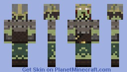 Draugr Minecraft Skin