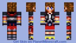 Dream Sora (Kingdom Hearts series) Minecraft Skin