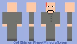Dr.Evil Minecraft Skin