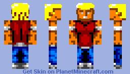 Retro Duke Nukem (For Kefka's Retro skin contest) Minecraft Skin