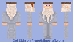 Harry Potter Dumbledore Minecraft Skin