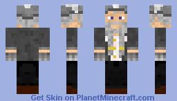 Old Dwarf Minecraft Skin