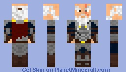 Dwarven General Minecraft Skin