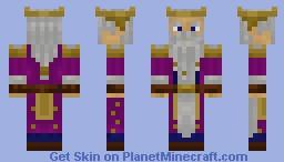 King Durin of Moria Minecraft Skin
