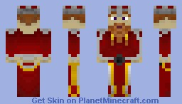 Dwarf Warrior [3D Features] (Request Skin) Minecraft Skin