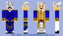 EITC Commodore Minecraft Skin