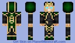 Elven Mage Minecraft Skin