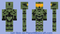 Master Chief Halo 4 Mark VII Minecraft Skin