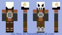elite skull worrior Minecraft Skin