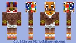Aztec Minecraft Skin