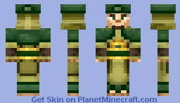 Male EarthBender Master Minecraft Skin